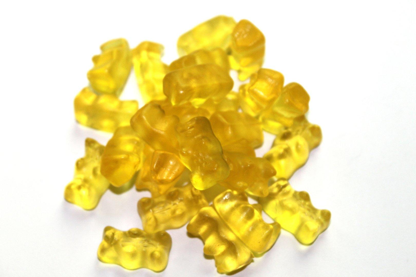 Gelbe Bilder edition gelbe gummibärchen mandarine