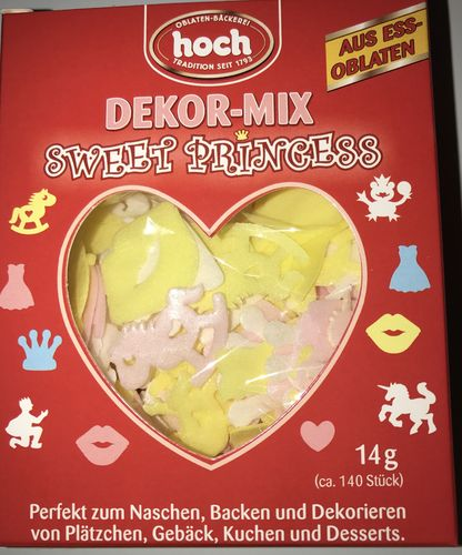 Dekor-Mix Sweet Princess (ca. 140 Stück, 14g)