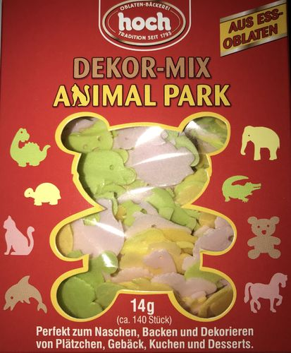 Dekor-Mix Animal Park (ca. 140 Stück, 14g)