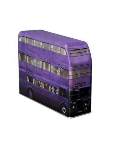 Harry Potter Knight Bus Spardose mit Fruchtgummi (112g)