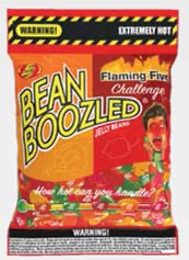 Jelly Belly Bean Boozled Flaming Five 54g Beutel