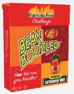 Jelly Belly Bean Boozled Flaming Five 45g Flip Top Box